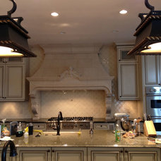 Traditional Kitchen by River City Tile Company