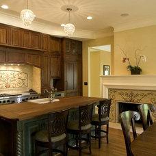 Traditional Kitchen by Vita Nova Mosaic, Inc.