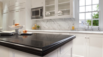 Absolute Black Granite & Calacatta Marble