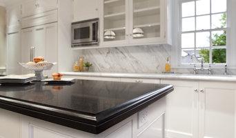 Absolute Black Granite & Calacatta Marble