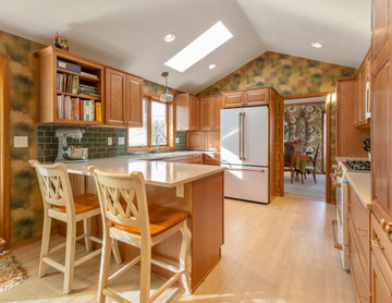 Abstract Traditional Kitchen