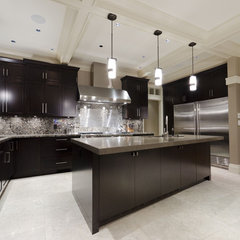 contemporary kitchen by Peter Rose Architecture and Interiors
