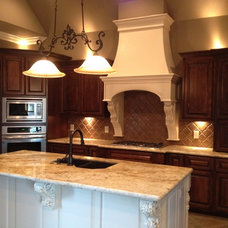 Traditional Kitchen by Acadian Dream Homes