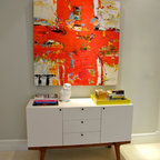 Kids Play Area Modern Living Room Miami By B Design