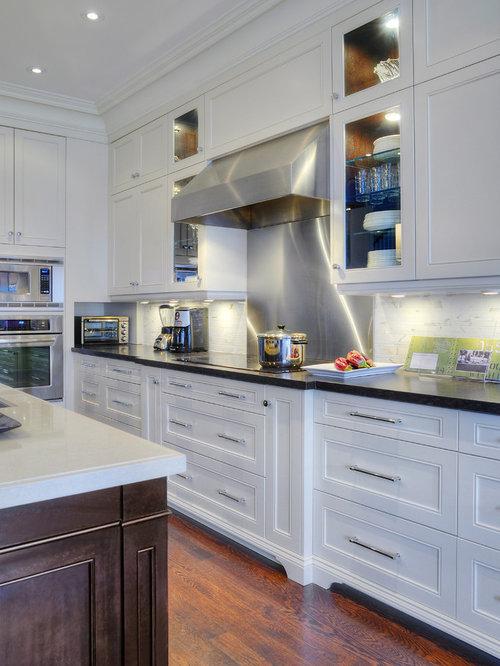 Transitional Kitchen Design Ideas, Renovations & Photos with Quartz ...