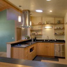 Contemporary Kitchen by Copeland Architecture & Construction Inc