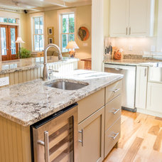 Farmhouse Kitchen by Brookstone Builders