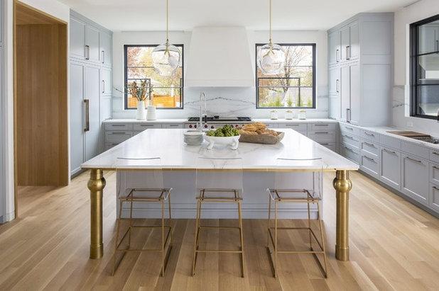 Transitional Kitchen by Boss Design Center