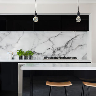 Acrylic Black Gloss Kitchen