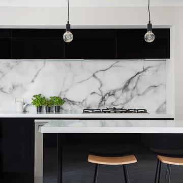 Acrylic Black Gloss Kitchen