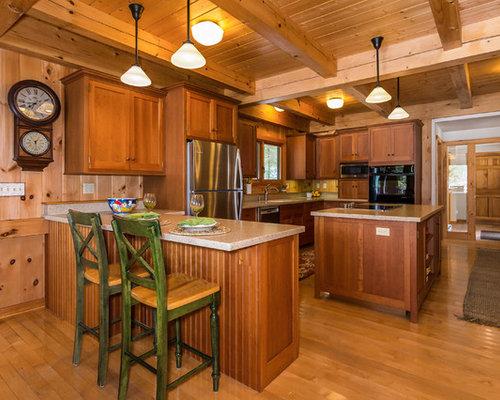 Brilliant Rustic Kitchen Design Ideas Remodel Pictures Houzz Largest Home Design Picture Inspirations Pitcheantrous