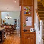 Grey Country Kitchen - Traditional - Kitchen - DC Metro - by JACK ROSEN CUSTOM KITCHENS