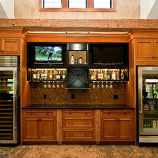 Traditional Kitchen by Automation Design + Entertainment
