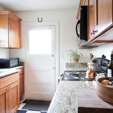 Midcentury Kitchen by Jaclyn Campanaro Photography