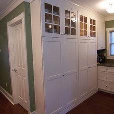 Transitional Kitchen by NorthEast Cabinet Designs