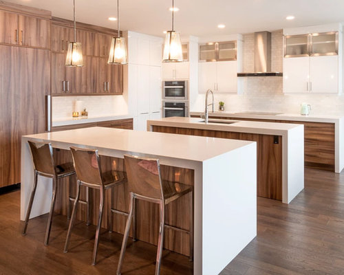 Edmonton kitchen design ideas renovations photos with for Kitchen cabinets 99 street edmonton