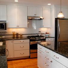 Craftsman Kitchen by Wood Wise Design & Remodeling