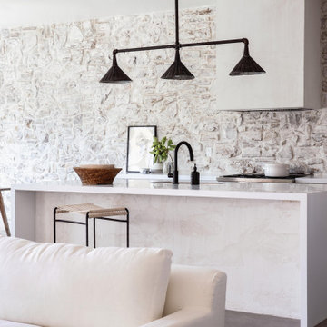 Added Style: Whitewash Grout Technique
