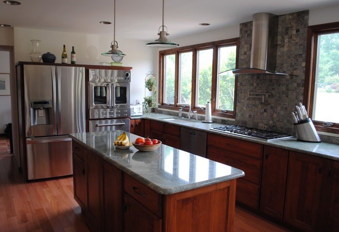 Transitional Kitchen by Sterling Kitchen & Bath