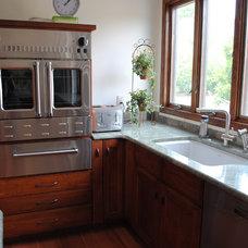 Transitional Kitchen by Sterling Kitchen & Bath
