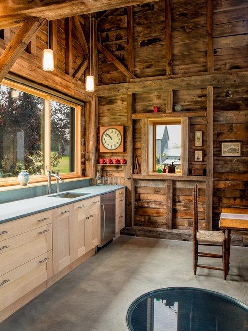 Foto e idee per arredare una casa in montagna burlington for Casa stile shaker