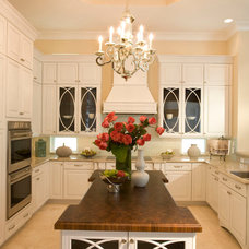 Traditional Kitchen by Roz Shuster Designs