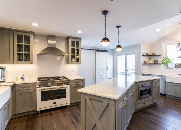 Kitchen by MS Warraich Associates LLC