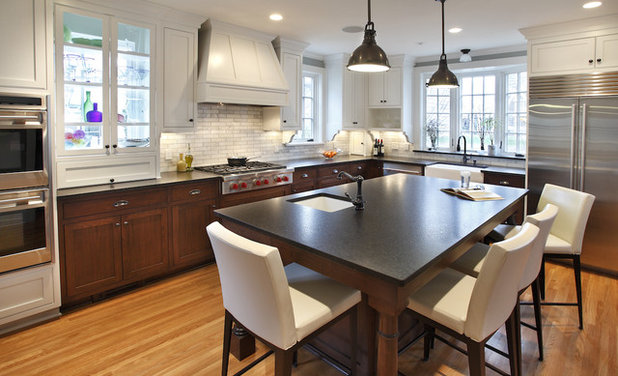 Spectacular Contemporary Kitchen by Kuhl Design Build LLC