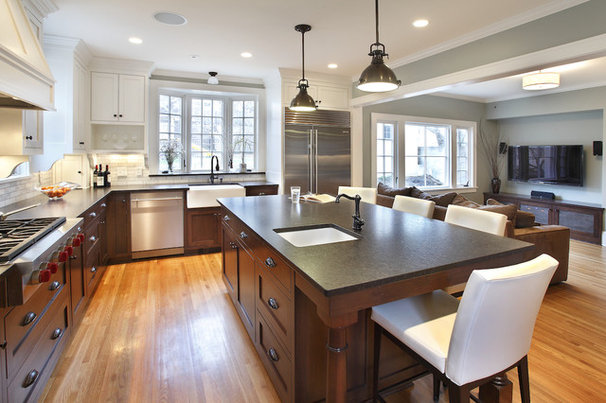Contemporary Kitchen by Kuhl Design Build LLC