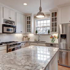 Traditional Kitchen by William Johnson Architect