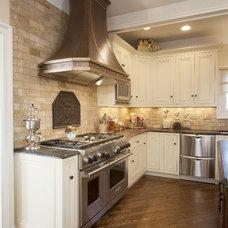 Mediterranean Kitchen by Parrish Construction