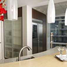 Contemporary Kitchen by XTC Design Incorporated