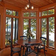 Traditional Kitchen by Bonin Architects &  Associates