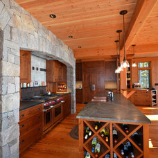 Traditional Kitchen by Bonin Architects &  Associates