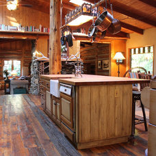 Rustic Kitchen by Madison Modern Home
