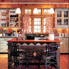Rustic Kitchen by Carter Daley Designs