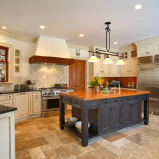 Farmhouse Kitchen by Rebecca Reynolds Design -New Canaan Kitchens