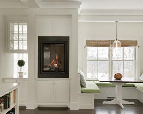 modelo de cocina comedor clsica renovada con puertas de armario blancas armarios estilo shaker