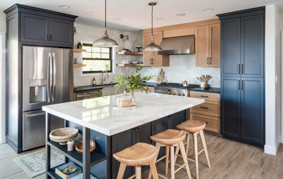 Kitchen of the Week: Beauty and Function in 140 Square Feet