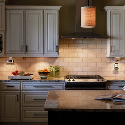 """With its """"hidden from view"""" track, the Under-Cabinet Lighting ..."""