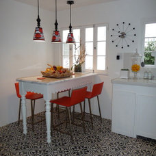 Eclectic Kitchen by Granada Tile