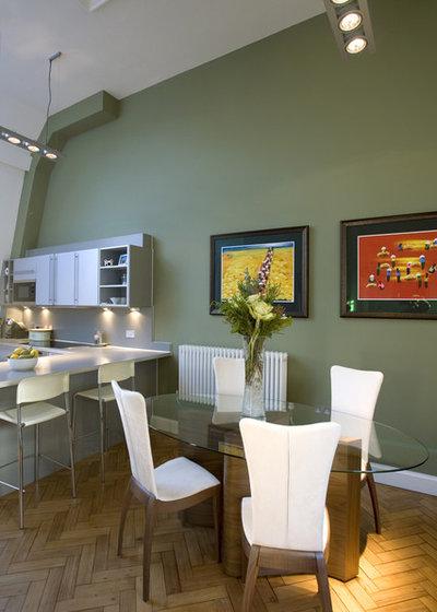 Contemporary Kitchen by Adrienne Chinn Design