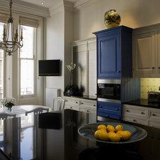 Traditional Kitchen by Adrienne Chinn Design