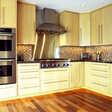 Contemporary Kitchen by Alicia Friedmann Interior Design
