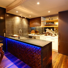 Eclectic Kitchen by ak Interiors