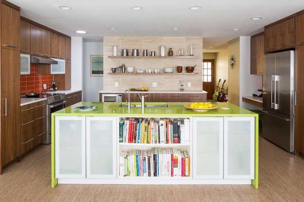Midcentury Kitchen by Knutson Residential Design, LLC