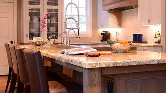 Afton Oaks Farm House Kitchen