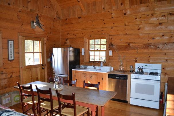 Traditional Kitchen Afton Virginia Cabin
