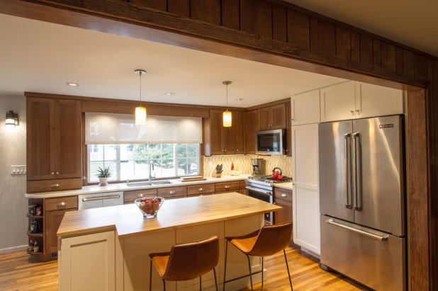 Traditional Kitchen by Princeton Design Collaborative