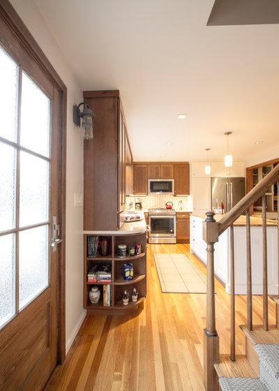 Farmhouse Kitchen by Princeton Design Collaborative